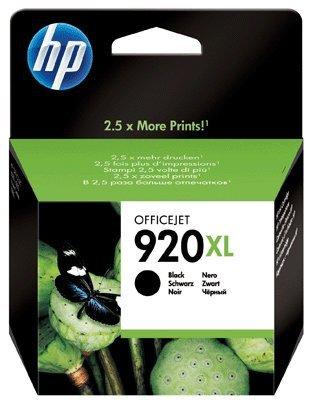 Preisvergleich Produktbild Original Tinte HP Nr 920 CD975AE XL - 1 Tinten-Patrone - Schwarz - 1.200 Seiten - 32 ml