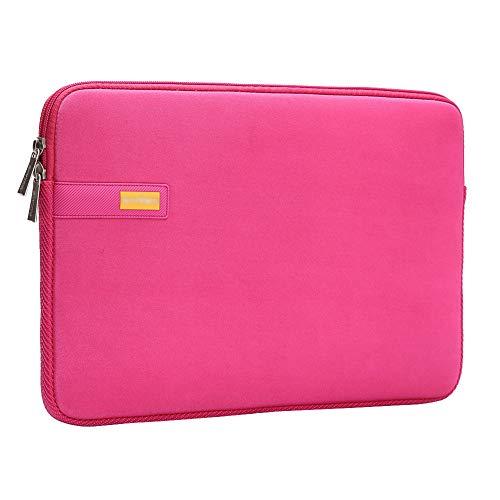 "11.6 Zoll Wasserdichtem Laptop Sleeve Case Tragbar Notebook Hülle Schutzhülle Tasche Schutzabdeckung für 11.6"" MacBook Air,Rosa"