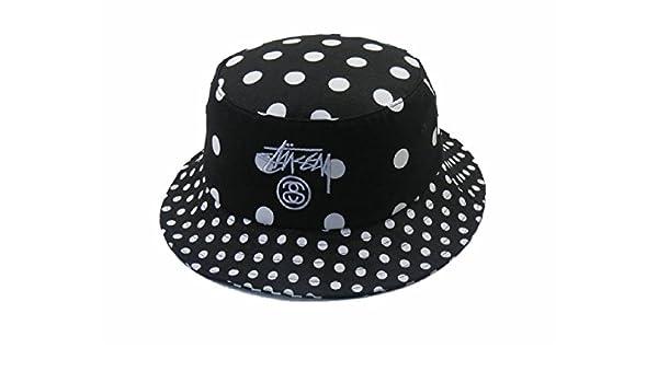 nuovo 2017 nero cappello Stussy pescatore  Amazon.it  Abbigliamento 1b31279ab6b1