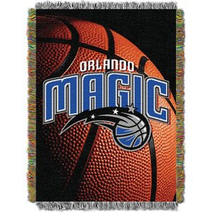State Warriors Foto Echt gewebte Überwurf, Herren Unisex Damen, NBA051030019RET, Orlando Magic, 48