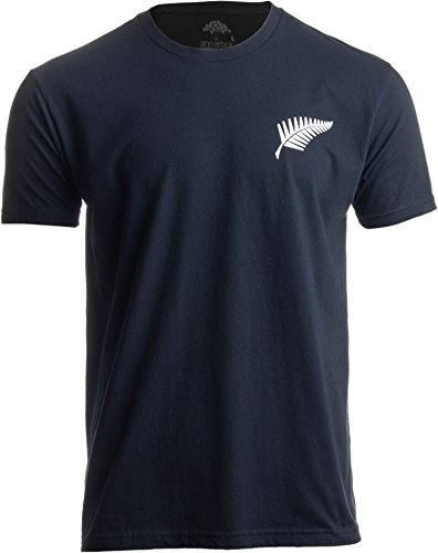 Unisex-T-Shirt Silver Fern - Silberfarn-Motiv für Neuseeland-Fans New Zealand Rugby - 2XL