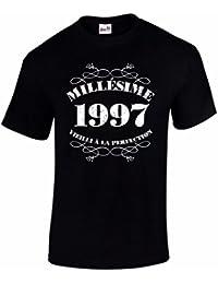 T-Shirt Anniversaire Homme 20 Ans Millésime 1997