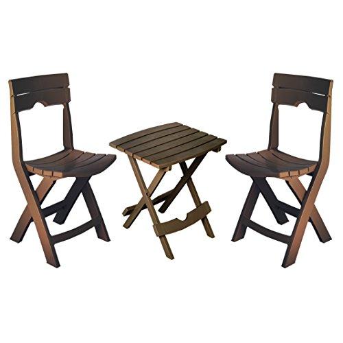 Quik-set (Adams Manufacturing 8595-60-4731 Quik-Fold Gesprächs-Set, erdbraun Earth Brown)