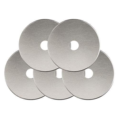 Fiskars Klinge für Rollenschneider, 45 mm, 5 Stück pro Packung