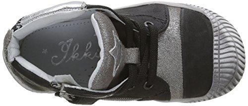 IKKS Kelly, Sneakers fille Noir (41 Vtc Noir/Argent Dpf/Voip)