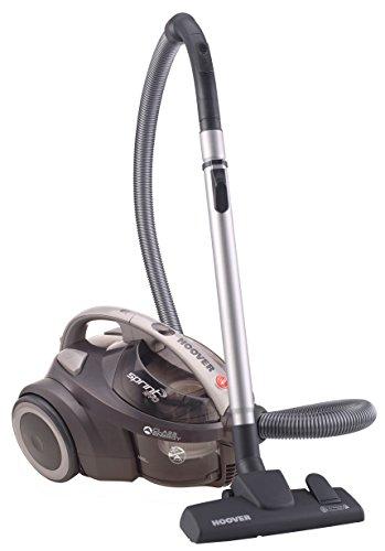 Hoover Sprint EVO SE41 - Aspiradora sin bolsa con filtro EPA, todas las superficies, 700W, nivel de ruido 80dBA, color gris