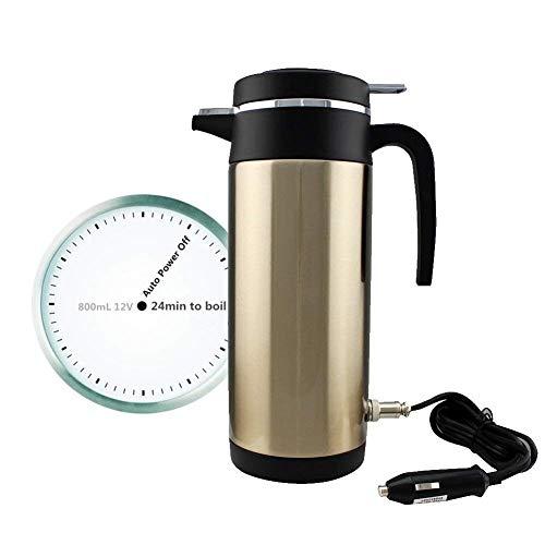 Taza térmica para café. Termo eléctrico para coche