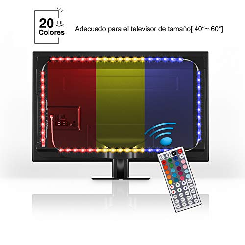 YISSVIC Iluminación Led para Televisión Tiras de Led TV Luces Led para...