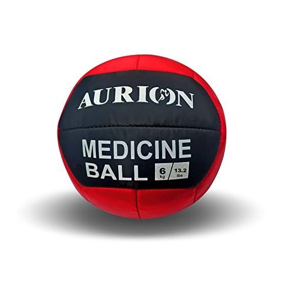 Aurion Medicine Ball Exercise Slam No Bounce Yoga Cross Fit Gym Training Fitness 1 Kg,2 kg, 3 kg,4 kg, 5 kg, 6 kg,7 kg, 8 kg,9 kg, 10 kg Medicine Ball