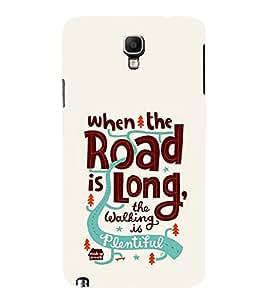 FUSON Road Is Long Walking 3D Hard Polycarbonate Designer Back Case Cover for Samsung Galaxy Note 3 :: Samsung Galaxy Note Iii :: Samsung Galaxy Note 3 N9002 :: Samsung Galaxy Note 3 N9000 N9005