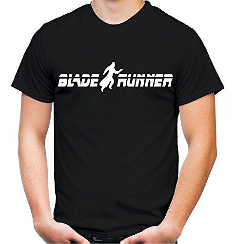 Blade Runner Männer und Herren T-Shirt | Spruch Film Comic Geschenk (XL, Schwarz) (Science Fiction Kostüme Ideen)