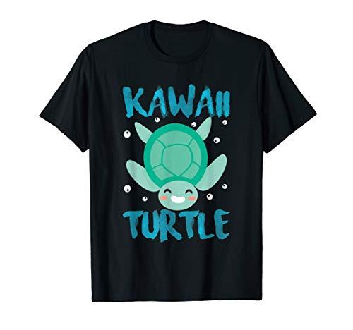 Cool Kawaii Turtle - Japanese Anime Manga Chibi Animal Lover T-Shirt (Meme Halloween 2019)