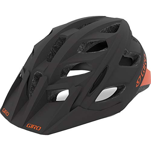 Giro Hex MTB Fahrrad Helm schwarz/orange 2019: Größe: L (59-63cm)