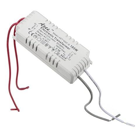 Halogen Light LED Driver Power Supply Electronic Transformer 105W 220V-240V 220V vers 12V AC transformateur ampoules halogenes