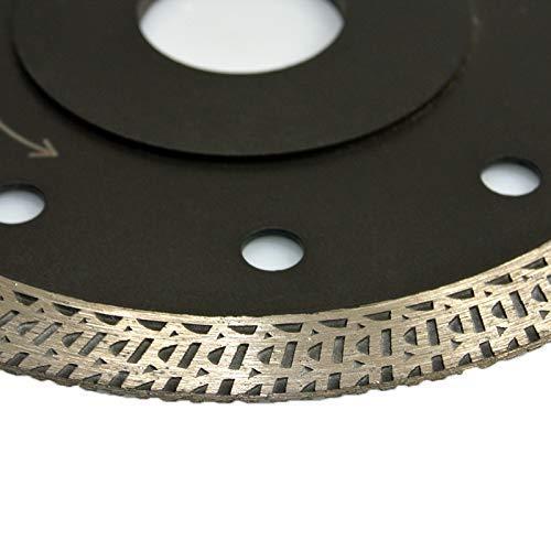 115 mm para m/áquina manual Disco de corte diamantado de granito profesional SUPERCUT corte de piedra extra fino