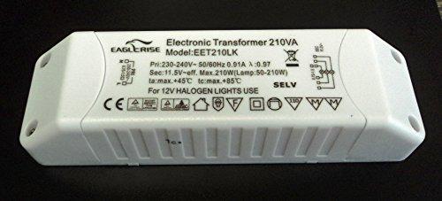 Eaglerise EET210LK Halogentrafo 210 Watt dimmbar IKEA
