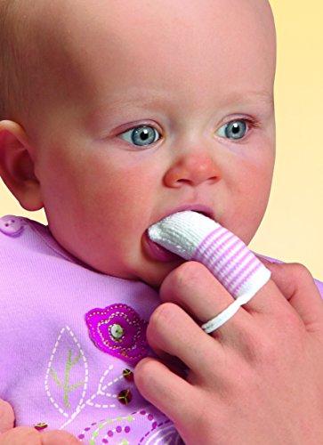 Nürnberg Gummi Babyartikel Gmb 37070 - NIP Mundpflege-Fingerling, Kleinkinder und Vorschule