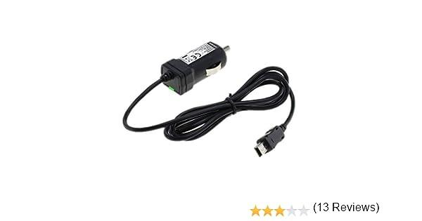 Caricabatteria AUTO 1 a per dispositivi di navigazione con micro-USB 12v TMC antenna