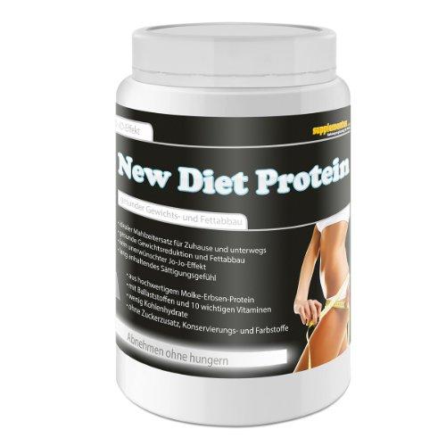 New Diet Protein! 400g Diätdrink Straffen Gewichtsreduktion Molke und Erbsenprotein Fettabbau Eiweiß Molke Geschmack Banane