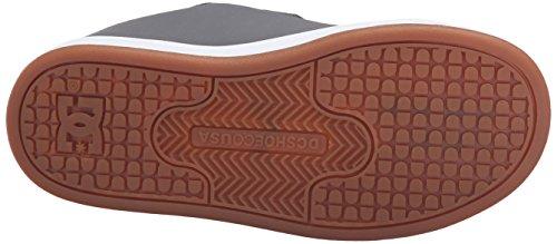 DC Shoes - Sneaker CHARACTER V, Bambino Grey/White