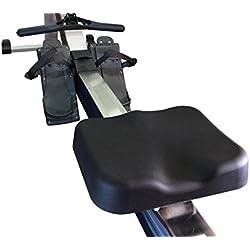 Máquina de remo funda de asiento por vapor Fitness diseñado para concepto 2máquina de remo, Made for Concept 2 rowing machine seat, Negro