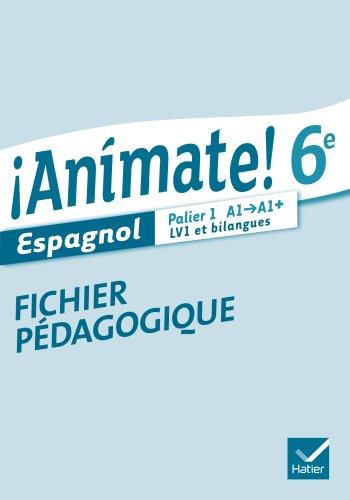 Animate Espagnol 6e éd. 2013 - Fichier pédagogique