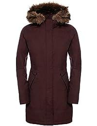 North Face W Arctic Parka - Parka para mujer, color marrón, talla M
