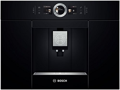 Bosch CTL636EB1 Coffee Maker - Coffee Makers (Built-in, fully-auto, Espresso Machine, Coffee Beans, Ground Coffee, Black, Stainless Steel)