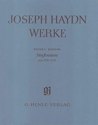 Haydn, Franz Joseph: Joseph Haydn Werke Reihe 1 Band 5b : Sinfonien um 1770-1774 Partitur, broschiert