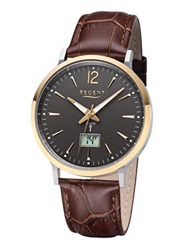 Regent montre homme analogique numérique sans fil Montre bracelet modèle BA de 413