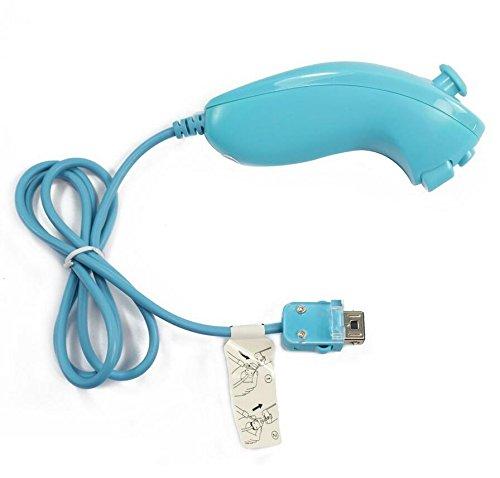 Preisvergleich Produktbild dersoning Griff-Controller von Videospielen Nintendo Wii–Hellblau