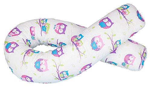 Blance Schwangerschafts Körper Kissen mit Band Kordel, Pink (Kürzer Langes Bein Körper)