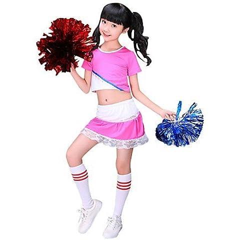 ZY-Costume da Cheerleader per bambini in poliestere, motivo: Fashion-Borsetta, 2