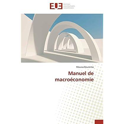 Manuel de macroéconomie