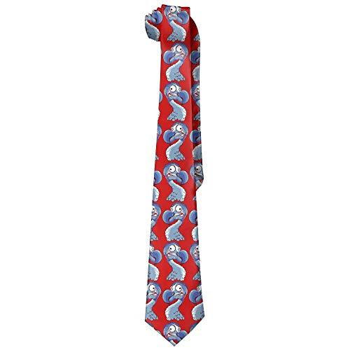 Men's Comics Party Dodo Bird Soft Fashion Novelty Krawatte Tie Neck Tie