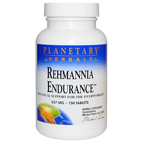 Planetary Herbals - Magnesio di resistenza 837 di Rehmannia. - 150 Dei ridurre in pani formule planetarie precedentemente