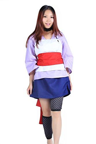 De-Cos Naruto Shippuden Hidden Sand Temari Chunin Exam Outfit 2nd Ver (Naruto Temari Kostüm)