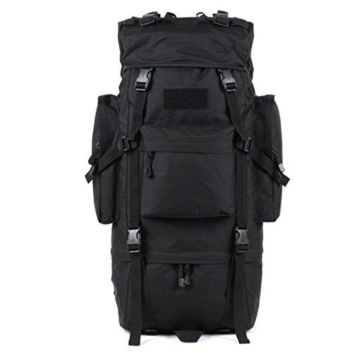 zaino trekking Maschio / Femmina 65L Alpinismo Bag / Borsa a tracolla / Multi-purpose di viaggio zaino impermeabile esterna Zaini da escursionismo ( Colore : C , dimensioni : 65L-72*30*23cm ) E