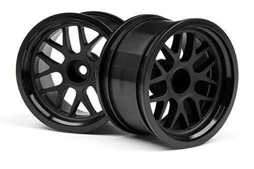 Preisvergleich Produktbild HPI Racing H109156 - BBS Speichen-Felge 48 x 31 mm, 9 mm Offset, 2 Stück, schwarz
