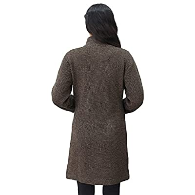 Matelco Women's Button Coat with Pocket Cardigan