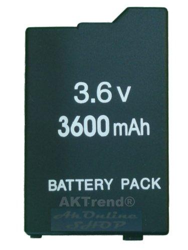 Original AKTrend® Akku 3600mAh für Sony PSP Slim&Lite 2000 3000 2004 3004 (NEU) - PSP