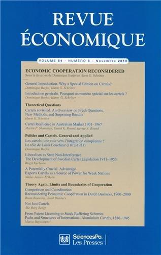 Revue économique, Volume 64 N° 6, Novembre 2013 : Economic cooperation reconsidered