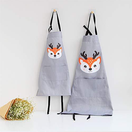 Lindong dulce Animales Delantal bolsillo adultos niños