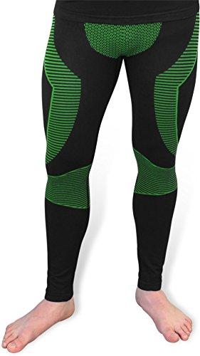 Funktionsunterwäsche Unterhose 'Super Active Ride' Herren Leggins ohne störende Naht Farbe Grün Größe S/M