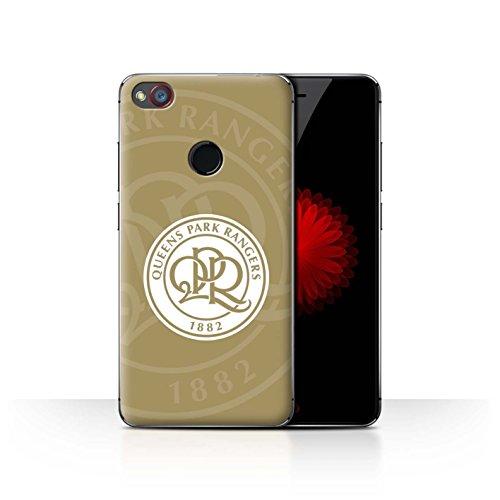 Offiziell Queens Park Rangers FC Hülle / Case für ZTE Nubia Z11 Mini / Gold Muster / QPR Fußball Crest Kollektion
