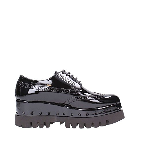 CULT - SCARPA ALICE LOW VERNICE NERA Nero