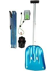 Mammut Lawinenverschüttetensuchgerät ELEMENT Barryvox Package - Baliza para esquí de descenso libre, color verde, talla Talla única