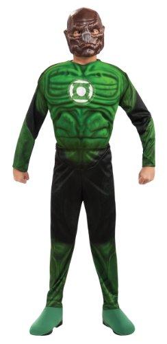 Kinder Kostüm Kilowog - Kostüm Green Lantern Kilowog muskulösen Kind