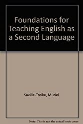 Foundations for Teaching English as a Second Language: Theory and Multicultural Education