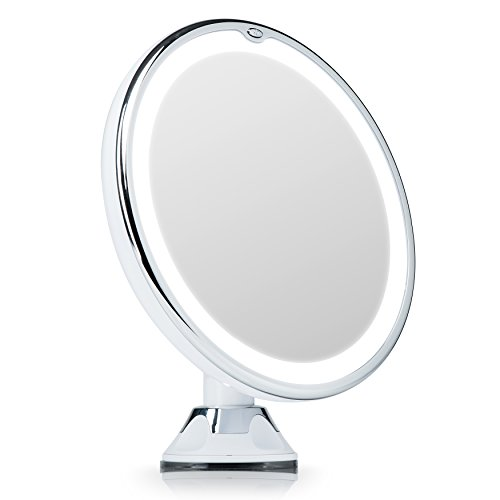 Fancii Espejo Maquillaje Luz LED Naturales Aumento